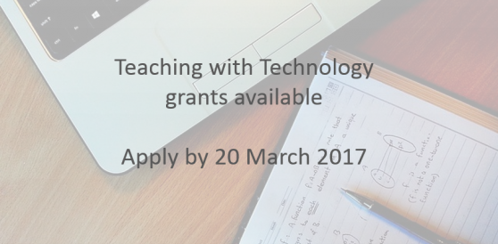 Teaching with Technology grants available