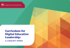 Curriculum for Digital Education Leadership: A Concept Paper